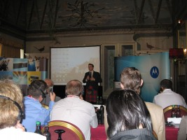 Annual Conference of Distributors and Premier Dealers of Motorola G&EMS, Scotland, Edinburgh (2007)
