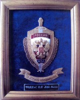 Award from the MIA of Russia